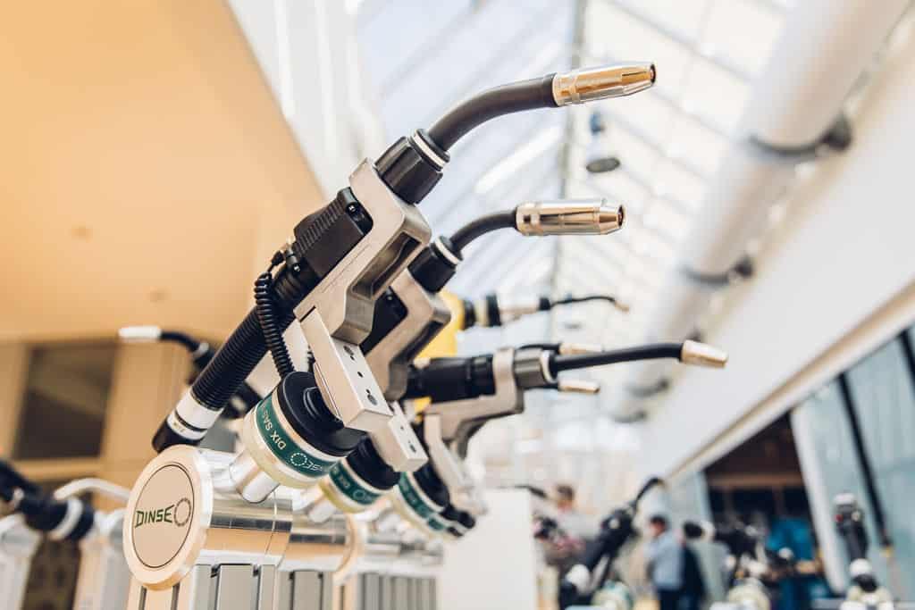 hořáky dinze dix robotizace