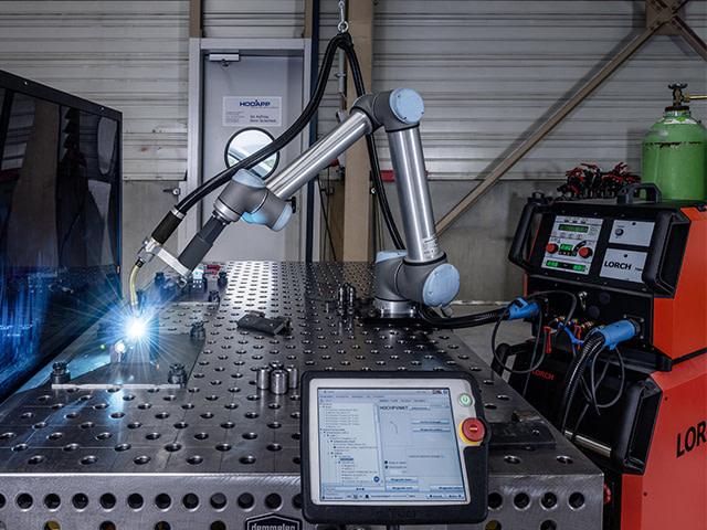 cobot, svařovací cobot, kobot, lorch, artweld, robotizace svařování