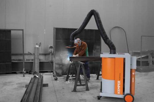 průmyslové odsávání, odsávání výparů při svařování, odsávání kemper, artweld